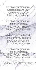 Climb Every Mountain